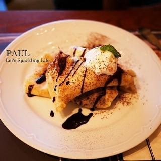 法式香蕉巧克力煎餅 -  dari PAUL 法國麵包甜點沙龍 (西屯區) di 西屯區 |Taichung