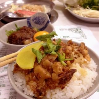魯肉飯 - Shilin District's 富樂台式刷刷鍋 (Shilin District)|Taipei