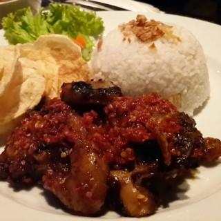 nasi iga bakar - Manado's Sky Dine & Lounge (Manado) Other Cities