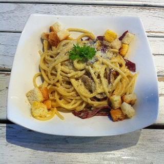 Spaghetti Carbonara - Sukolilo's Pavilion Steak & Ribs (Sukolilo)|Surabaya