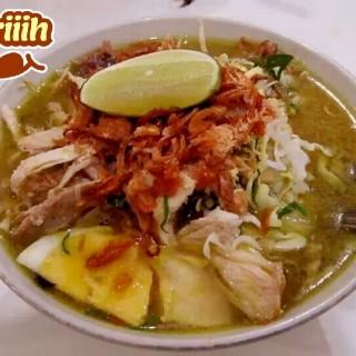 Soto Ayam - Rungkut's Soto Ayam Kampung Pak Jayus (Rungkut) Surabaya