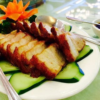 Lechon Kawali/Deep Fried Pork Belly - Pangasinan's Fortune Hongkong Seafood Restaurant (Pangasinan)|Other Provinces