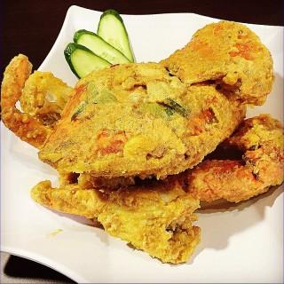 Salted Eggs Crab - ในAng Mo Kio จากร้าน龍海鮮螃蟹王 (Ang Mo Kio)|สิงคโปร์