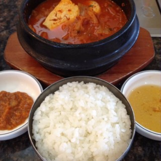 Kimchi Ji Gae rice set lunch -  USJ / Han Woo Ri (USJ)|Klang Valley