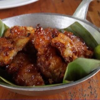 Jamur goreng crispy - Lembang's Sapulidi Cafe & Resort (Lembang)|Bandung