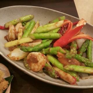 asparagus udang -   / Seribu Rasa (Kuningan)|Jakarta