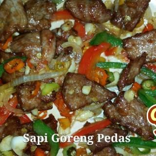 Sapi Goreng Pedas - Denpasar's Kepiting Sukro (Denpasar)|Bali