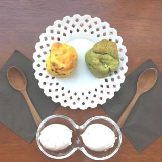 Matcha and plain scones -  dari Spoonful (ลุมพินี) di ลุมพินี |Bangkok
