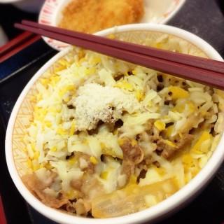 三種起司牛丼 - Zhongzheng District's SUKIYA (Zhongzheng District)|Taipei