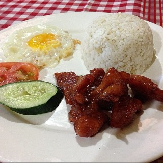 Tocino Meal -  dari Baguio Village Inn (Baguio City) di Baguio City |Other Provinces