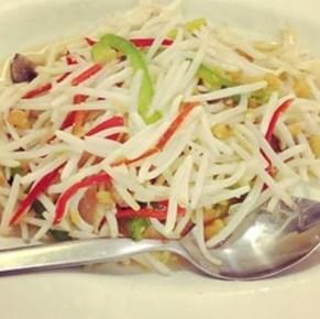 Tauge ikan asin - Chinese Food AHwa - Restaurant - Muara Karang - Jakarta