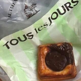Chocolate Sandwich -  dari Tous les Jours (Kelapa Gading) di Kelapa Gading |Jakarta