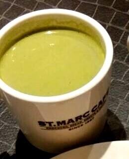 Matcha Latte - Wack-Wack's St. Marc Cafe (Wack-Wack)|Metro Manila