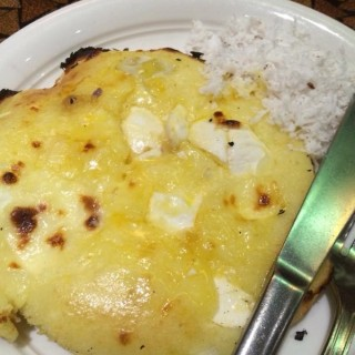 Bibingka with Laguna Cheese and Salted Duck Egg - Makati's Café Via Mare (Makati)|Metro Manila