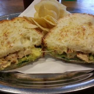 Chicken Avocado Sandwich - Central Bandung's Two Cents Coffee (Central Bandung) Bandung