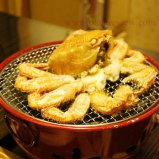 ปูขนย่าง - ในคลองตันเหนือ จากร้านอุเมะโนะฮานะ (คลองตันเหนือ)|กรุงเทพและปริมลฑล
