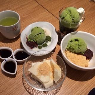 ไอศกรีมชาเขียวถั่วแดง -  ฟ้าฮ่าม / Ootoya Restaurant (โอโตยะ) (ฟ้าฮ่าม)|เชียงใหม่