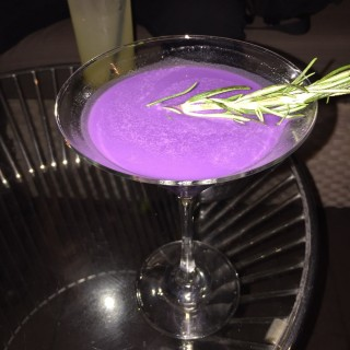 Purple cocktail - with taro - Tai Koo's Sugar (Bar.Deck.Lounge) (Tai Koo)|Hong Kong