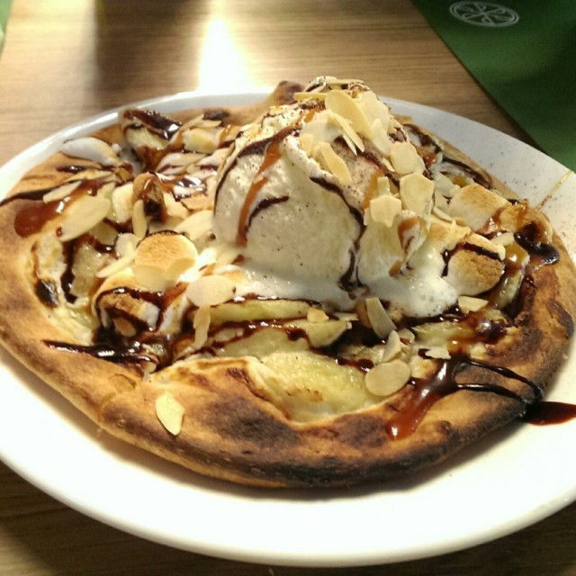 banana ice-cream pizza - The Point - 薄餅 - 銅鑼灣 - 香港