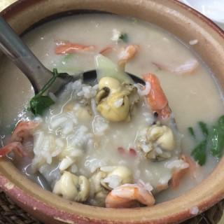 鮮蝦蠔仔粥 - 's 云腾砂锅粥 (chenjiaci)|Guangzhou