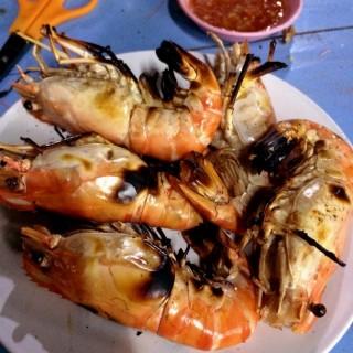 กุ้งเผา -  dari Yok Talay Seafood Buffet (บางขุนเทียน) di บางขุนเทียน |Bangkok