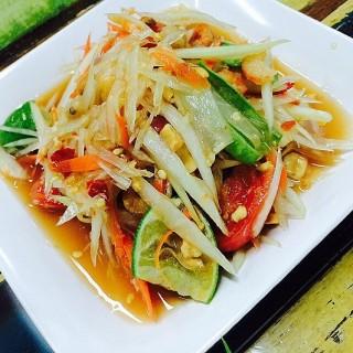 ตำไทย -  dari Papaya Pok Pok by Huaplachongnonsea (ช่องนนทรี) di ช่องนนทรี |Bangkok