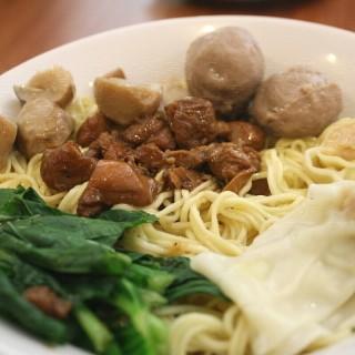 Bakmi bakso pangsit -  dari Bakmi Toko Tiga (Tebet) di Tebet |Jakarta
