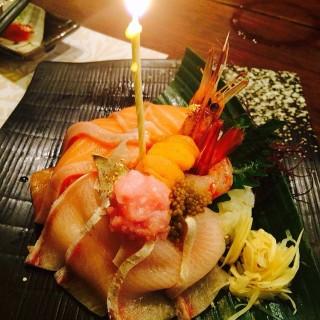 魚生生日蛋糕 -  dari Aji Ichiban (尖沙咀) di 尖沙咀 |Hong Kong