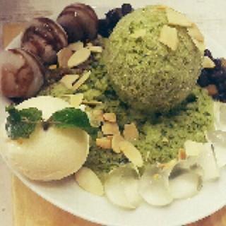 Matcha Ice Cream - 位於Pantai Indah Kapuk的Shirayuki Desserts (Pantai Indah Kapuk) | 雅加達