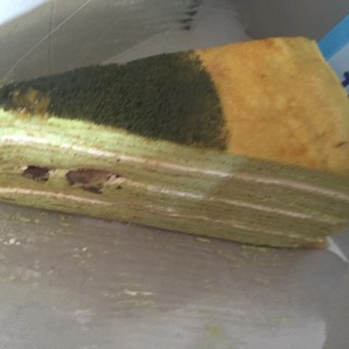 Green tea Crepe Cake - 's Nadeje (Kota Damansara)|Klang Valley