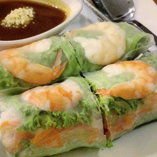 the rolls with special sauce - Suko Manunggal's Madame Chang (Suko Manunggal)|Surabaya