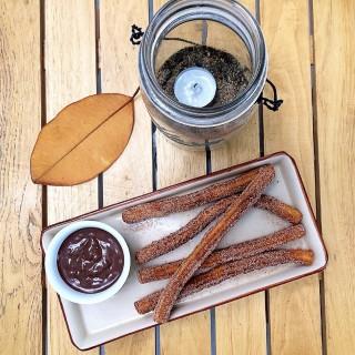 Churros Con Chocolate -  dari Cafe Sanso (San Juan) di San Juan |Metro Manila