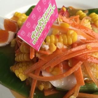 ตำข้าวโพดไข่เค็ม - 位于คลองตันเหนือ的Zaab อีลี่ (คลองตันเหนือ) | 曼谷