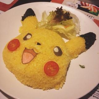 比卡超飯 - ใน銅鑼灣 จากร้านSatay King (銅鑼灣)|ฮ่องกง