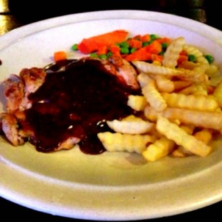 Black Pepper Chicken Chop -  Cheras / Rendezvous Steak House (Cheras)|Klang Valley