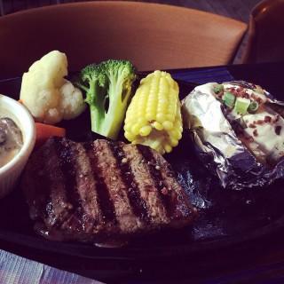 Ribeye Steak -  Jalan Kayu / Jerry's Barbeque & Grill (Jalan Kayu)|Singapore