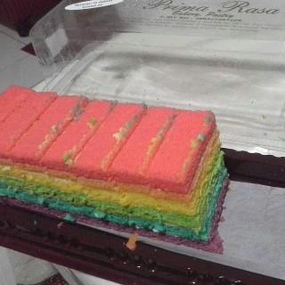 Rainbow Cake - Kebon Kawung's Prima Rasa (Kebon Kawung) Bandung