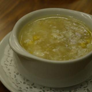 sup jagung dengan ayam - 位於Slipi的Nan Xiang Kitchen (Slipi) | 雅加達
