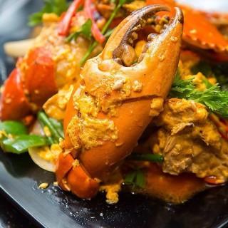 Curry mud crab  - Damansara Jaya's Absolute Thai (Damansara Jaya)|Klang Valley