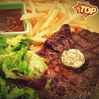 Rib Eye Steak -  dari Kitchenette (Slipi) di Slipi |Jakarta