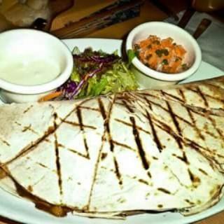 Grilled BBQ Chicken Quesadilla - North Avenue's The Chophouse (North Avenue)|Metro Manila