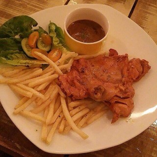 Black Pepper Chicken Chop -  Ampang / Tea Time Bakery (Ampang)|Klang Valley