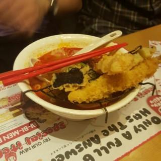 tokyo belly tempura ramen -  dari Tokyo Belly (Kuningan) di Kuningan |Jakarta