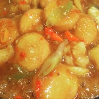 hotplate tofu seafood -  dari Imperial Kitchen & Dim Sum (Karet) di Karet |Jakarta