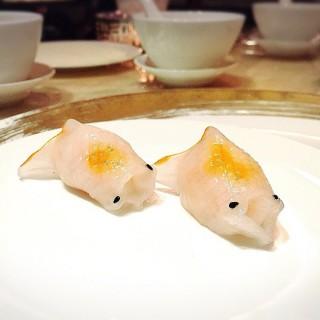 藍天使蝦金魚餃 -  dari The Eight (南灣) di 南灣 |Macau