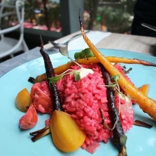 甜菜頭・小甘旬・檸檬忌廉芝士・意大利飯 - 位於尖沙咀的ATUM Restaurant (尖沙咀) | 香港