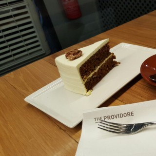 Latte, Coffee and carrot cake  -  Orchard / The Providore (Orchard)|Singapore