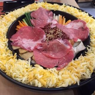 李光洙愛情(雙倍起司)春川炒雞排鍋 -  東區 / OMAYA春川炒雞 (東區)|雲林/嘉義