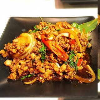 Haha basil minced pork -  Orchard / Haha Thai (Orchard)|Singapore