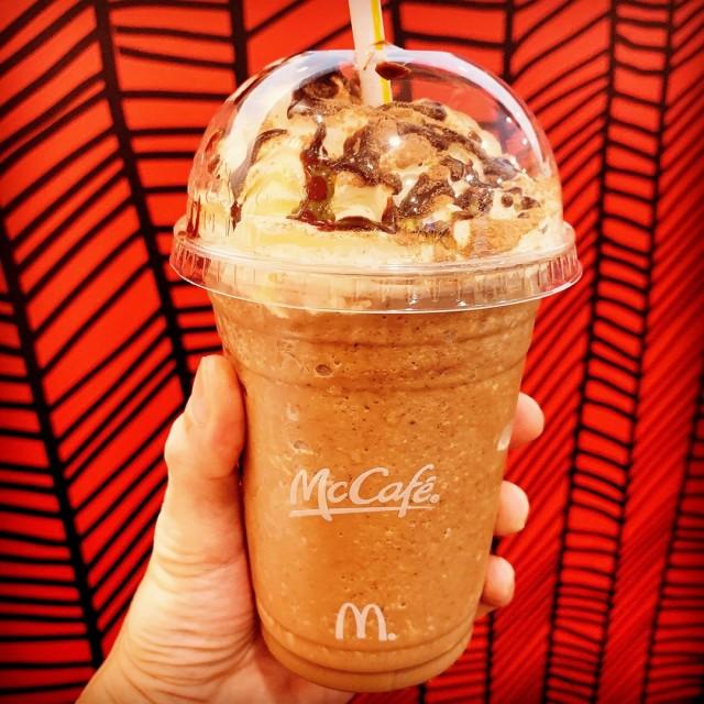 Double Chocolate Frappé - McDonald's - American - 巴西立 - Singapore
